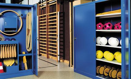 armoire équipement de sport