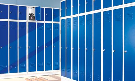 armoire vestiaire métallique