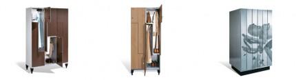 armoire vestiaire bois